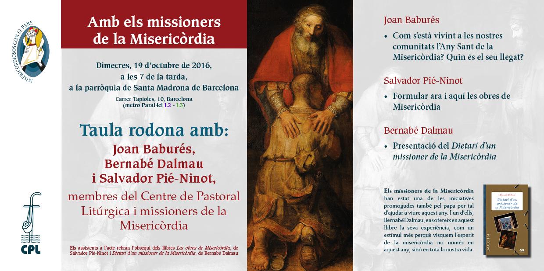 Amb els missioners de la misericordia